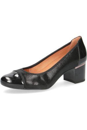 Caprice Elegant Low Heels Black , Donna, Taglia: 38 1/2