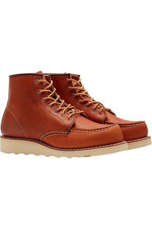 Red Wing Shoes Work 6 Moc Toe Boots , Donna, Taglia: UK 3.5