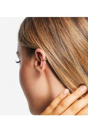 Orelia Orecchini ear cuff placcati con charm a forma di fulmine