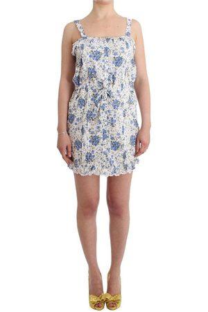 Ermanno Scervino Beachwear Floral Beach Mini Dress Short , Donna, Taglia: XL - 42