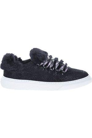 Hogan H365 Faux fur sneakers , Donna, Taglia: 36 1/2