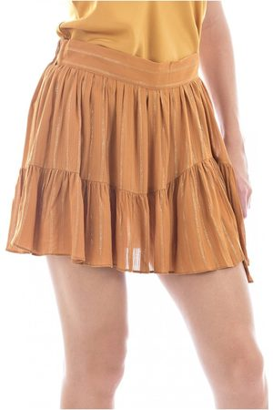 See u soon Mini jupe doublée short , Donna, Taglia: M