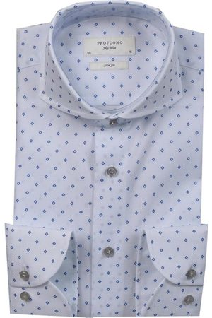 Profuomo Slim fit shirt , unisex, Taglia: 40