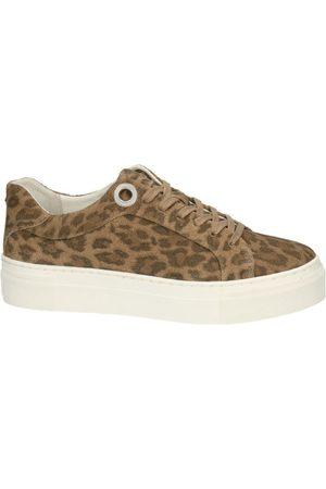 Bullboxer Suede leopard print sneaker 963018E5C , Donna, Taglia: 37