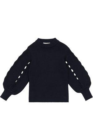 Chloé Pullover in cotone e lana