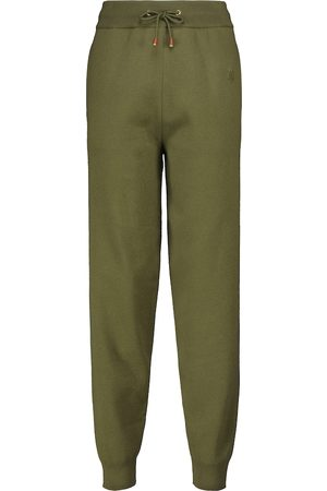 Burberry Pantaloni sportivi in lana e cashmere