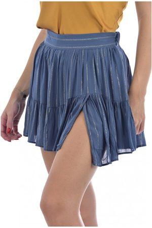 See u soon Mini jupe doublée short , Donna, Taglia: L