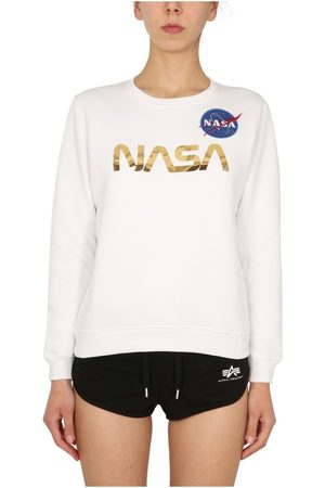alpha industries Nasa Sweatshirt , Donna, Taglia: S