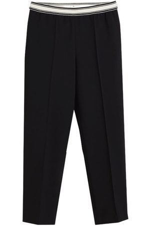 Bellerose Vlad straight 7/8 trousers with elasticated waist , Donna, Taglia: L