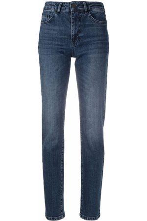 Karl Lagerfeld Donna Jeans a vita alta - Jeans skinny a vita alta