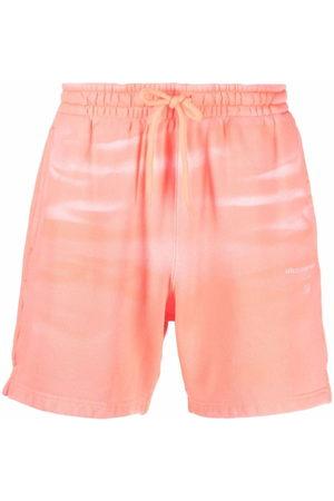 Alexander Wang Donna Shorts sportivi - Shorts sportivi con fantasia tie dye
