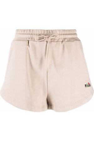 Msgm Shorts sportivi con stampa - Toni neutri