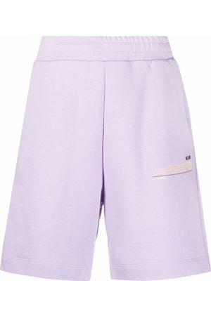 Msgm Shorts sportivi con applicazione