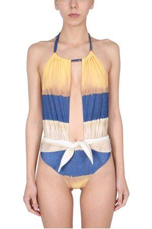 alberta ferretti ONE Piece Swimsuit With TIE DYE Print , Donna, Taglia: 40 IT