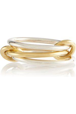 SPINELLI KILCOLLIN Anello Solarium in oro giallo 18kt e sterling