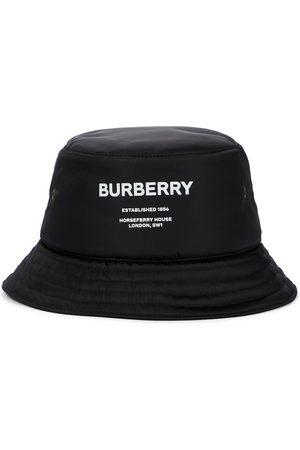 Burberry Cappello da pescatore con logo