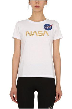 alpha industries 'Nasa' T-Shirt , Donna, Taglia: M