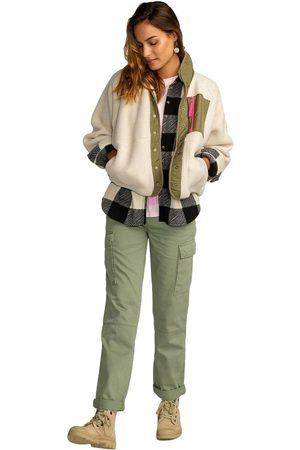Billabong Pantalones Largos , Donna, Taglia: 32