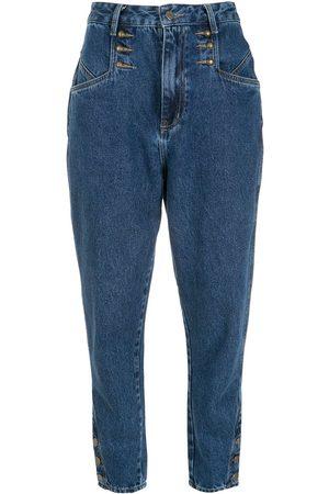 NK Donna Affusolati - Jeans affusolati Heloisa - 6076 AZUL INDIGO ESCURO