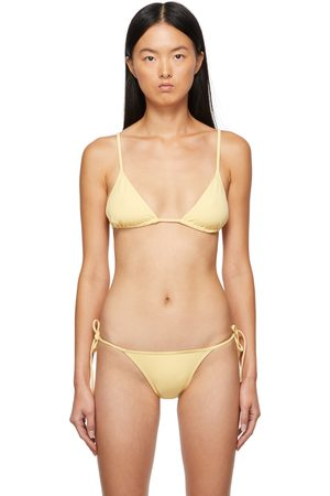 ERES Donna Bikini - Yellow Mouna Bikini Top