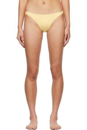 ERES Yellow Fripon Bikini Bottoms