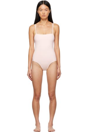 ERES Pink Aquarelle One-Piece Swimsuit
