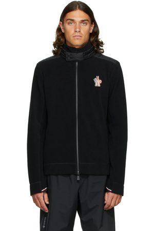 Moncler Black Zip-Up Cardigan Jacket