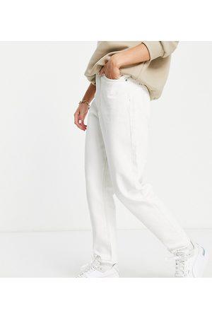 Dr Denim Nora - Mom jeans écru a vita alta
