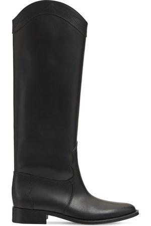 Saint Laurent Stivali Kate In Pelle 30mm
