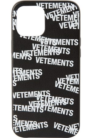 VETEMENTS Cellulare - Stamped Logo iPhone 12 Pro Max Case