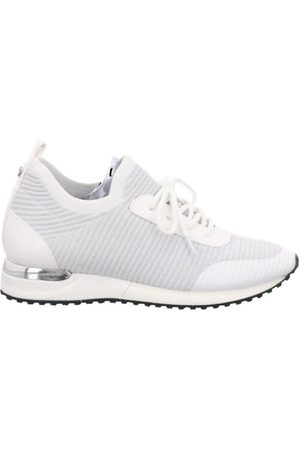 la strada Sneakers knitted laced up , Donna, Taglia: 38
