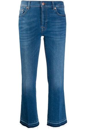 7 for all Mankind Jeans crop con vita media