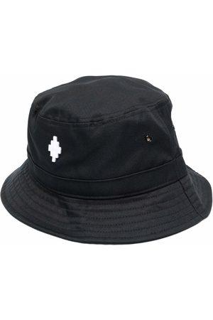 MARCELO BURLON Uomo Cappelli - Cappello bucket con ricamo