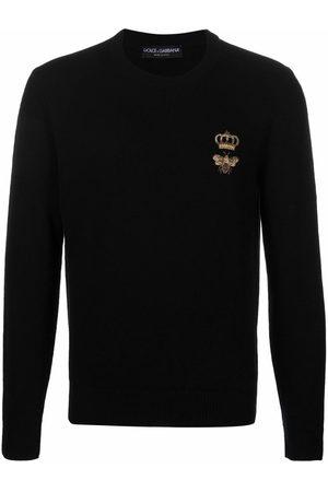 Dolce & Gabbana Uomo Felpe - Maglione con ricamo