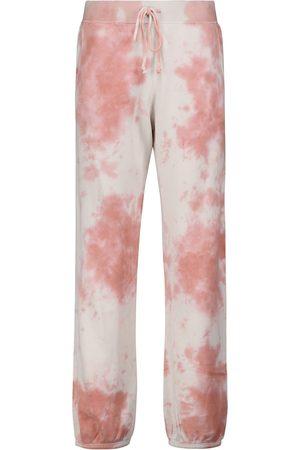 Velvet Pantaloni sportivi tie-dye Nissa in cotone