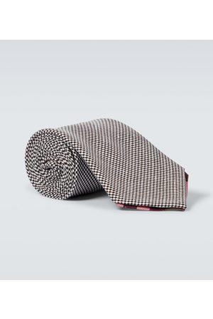 BRAM Cravatta in lana e lino Manarola