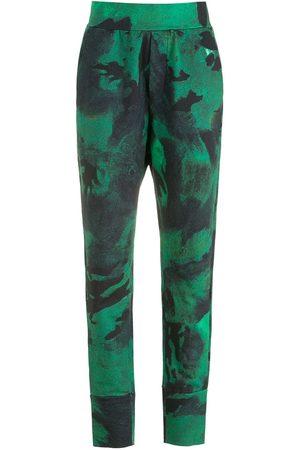 OSKLEN Pantaloni sportivi con fantasia tie-dye