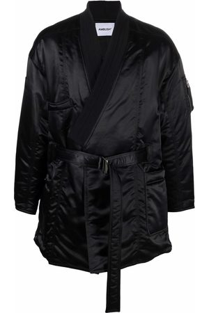 AMBUSH Uomo Giubbotti - KIMONO MA-1 HYBRID COAT BLACK NO COLOR