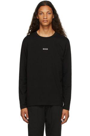 Boss Black Logo Long Sleeve T-Shirt
