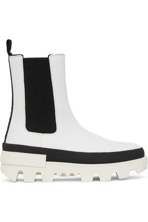 Moncler White Coralyne Boots