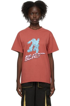Brain Dead Donna T-shirt a maniche corte - SSENSE Exclusive Them Skates Edition Blaster T-Shirt