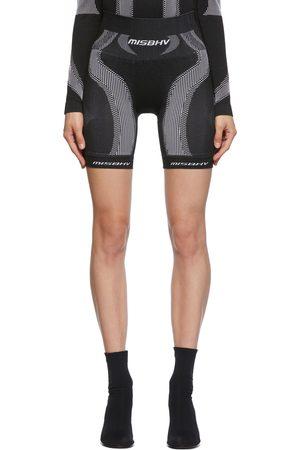 MISBHV Black & White Active Classic Sport Shorts
