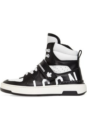 Dsquared2 Sneakers Icon In Pelle