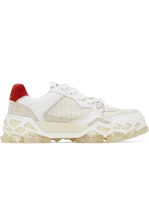 Jimmy Choo Donna Sneakers - White Diamond x Trainer Sneakers