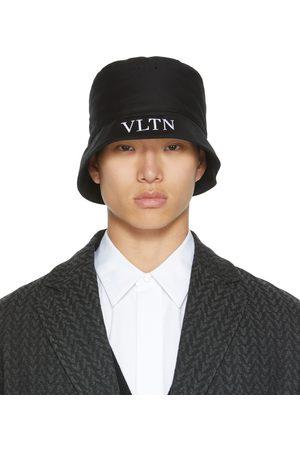 VALENTINO GARAVANI Uomo Cappelli - Black 'VLTN' Bucket Hat