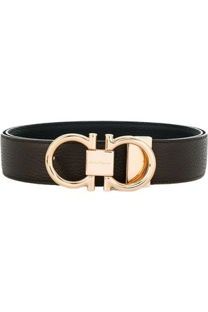 Salvatore Ferragamo Buckle Belt , unisex, Taglia: 105 cm