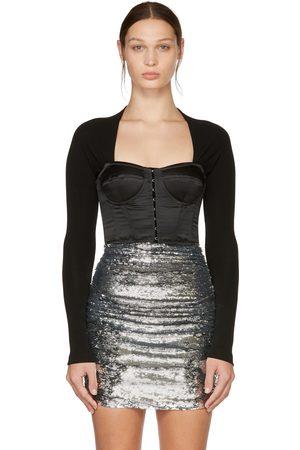 Dolce & Gabbana Donna Bustiers - Black Sweetheart Bustier Blouse