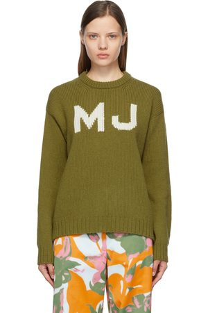 Marc Jacobs Donna Maglioni - Green 'The Big' Sweater