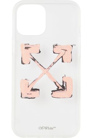 Off-White Cellulare - Transparent & Pink Arrows iPhone 12 Pro Max Case