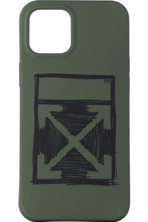 Off-White Cellulare - Negative Mark iPhone 12 Pro Max Case